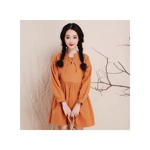 小清新大码女装连衣裙 棉麻连衣裙