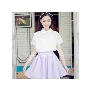 雪纺半身裙