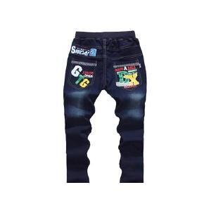 秋款牛仔单裤