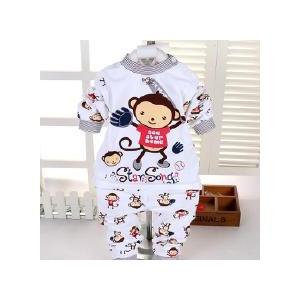 婴幼儿棉毛衫套装