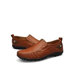 真皮皮鞋男式